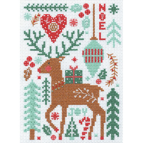 Nordic Winter Cross Stitch Kit