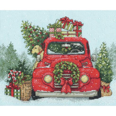 Festive Ride Cross Stitch Kit