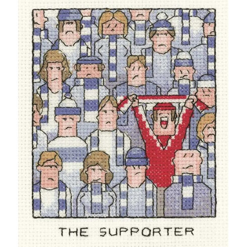 The Supporter Cross Stitch Kit