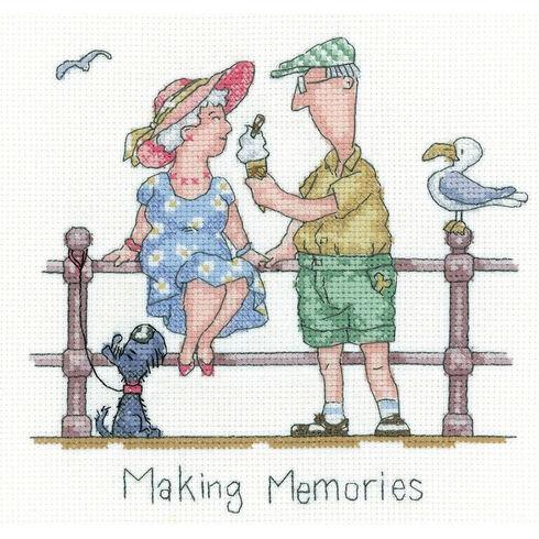 Making Memories Cross Stitch Kit