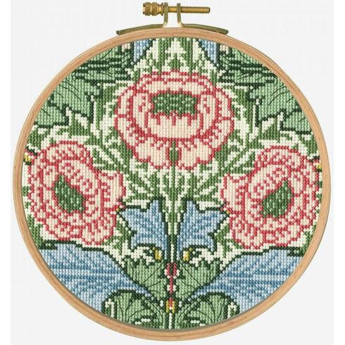 Myrtle Cross Stitch Hoop Kit
