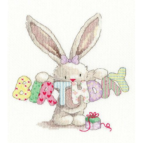 Bebunni - Birthday Cross Stitch Kit