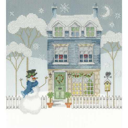 Home For Christmas Cross Stitch Kit (Bothy Threads)