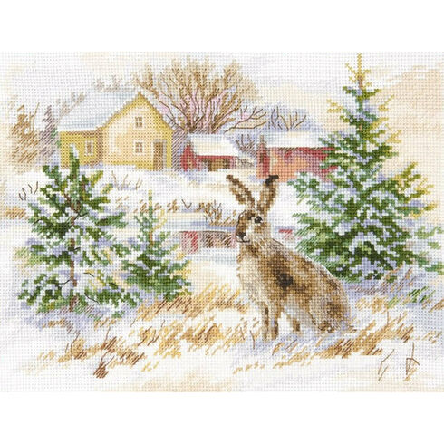 Winter Day Counted Cross Stitch Kit