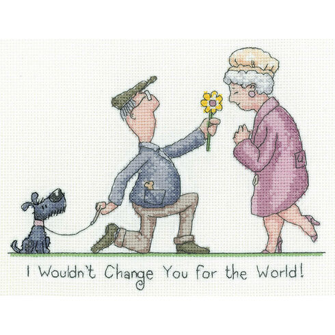 I Wouldn't Change You  - Golden Years Cross Stitch Kit
