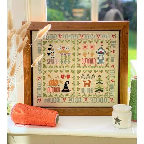 Four Seasons Sampler Cross Stitch Kit