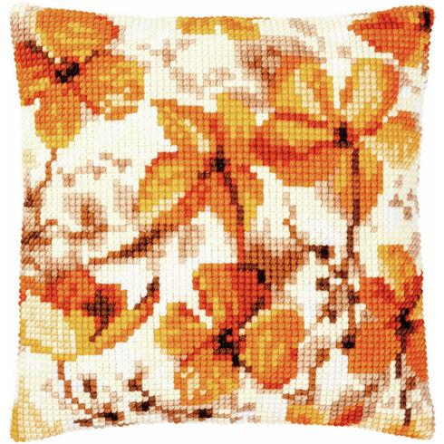 Autumn Seeds Chunky Cross Stitch Cushion Panel Kit