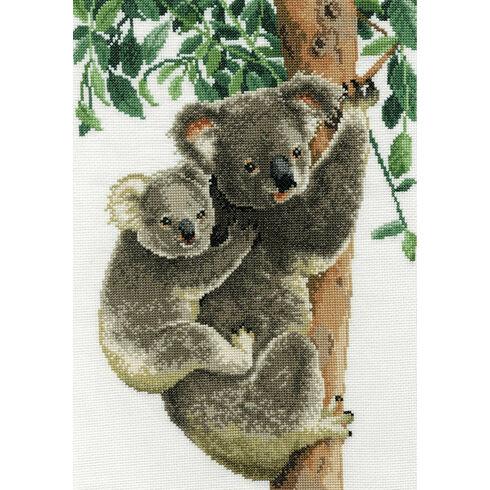 Koala Mum With Baby Cross Stitch Kit