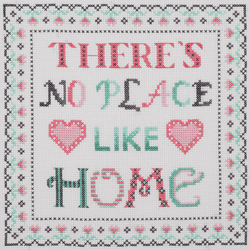 There's No Place Like Home Beginners Cross Stitch Kit