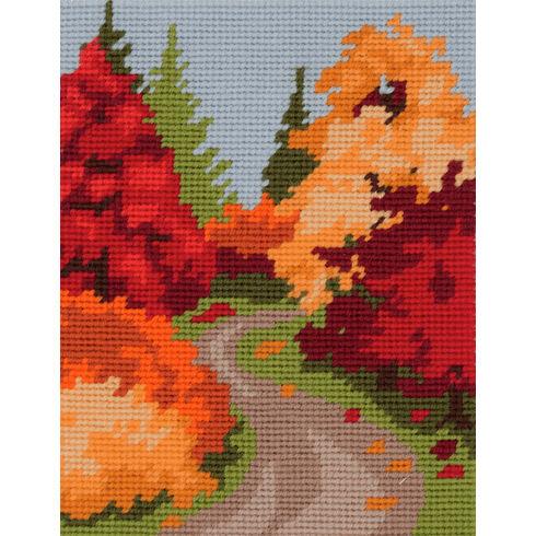 Autumn Walk Tapestry Kit