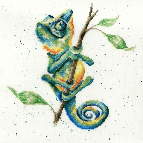 One In A Chameleon Cross Stitch Kit