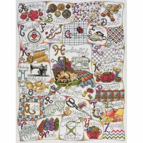 Stitching ABC Cross Stitch Kit