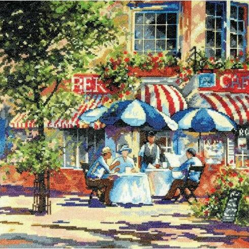 Cafe In The Sun Cross Stitch Kit