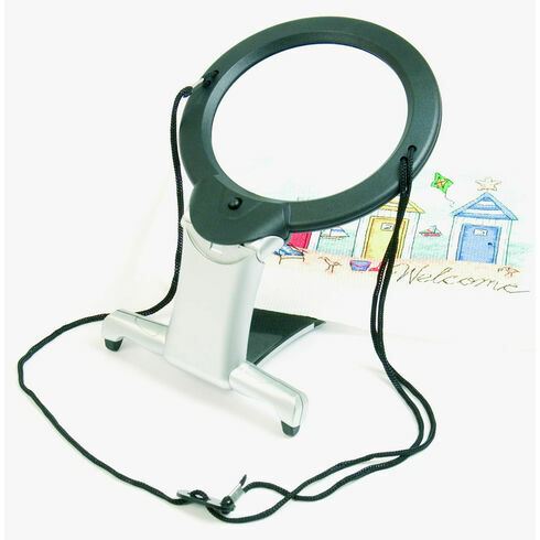 2-In-1 Illuminated Hands Free Magnifier