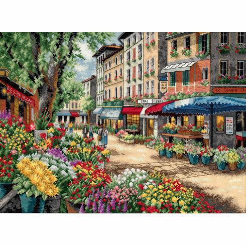 Paris Market Cross Stitch Kit