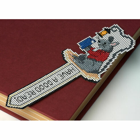 Lantern Light 3D Cross Stitch Bookmark Kit