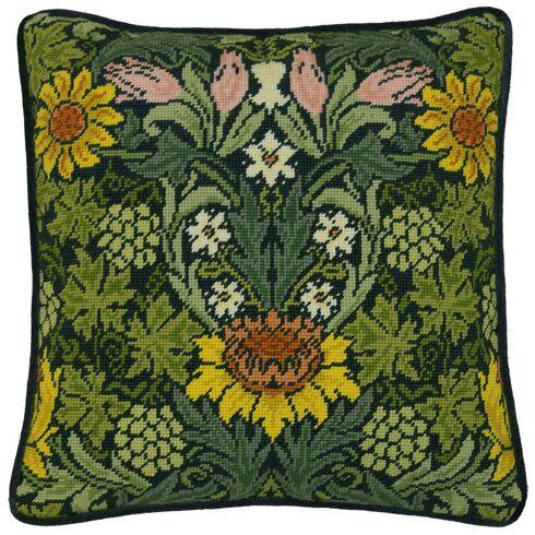 William Morris Sunflowers Tapestry Panel Kit