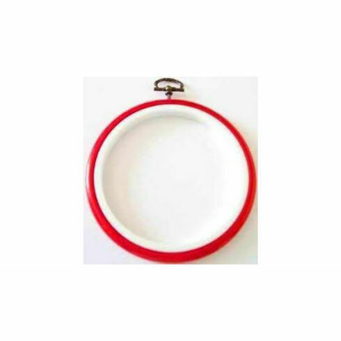 "Stitch Garden Embroidery Flexi Hoop - Red (3"")"