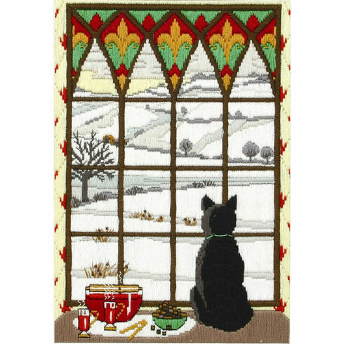 Winter Through The Window Long Stitch Kit