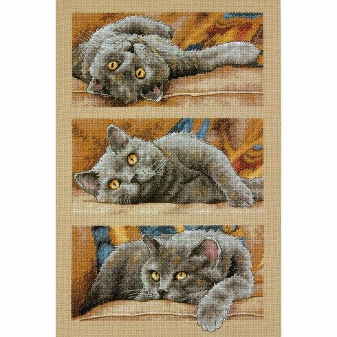 Max The Cat Cross Stitch Kit