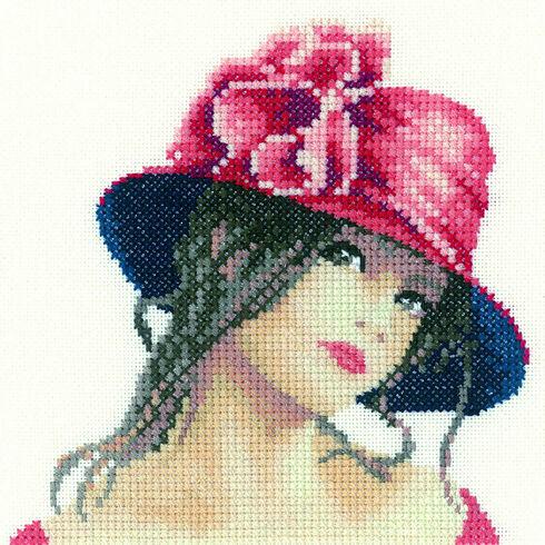 Claire Miniature Cross Stitch Kit