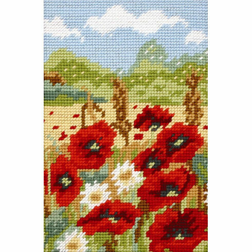 Poppy Field Beginners Tapestry Kit