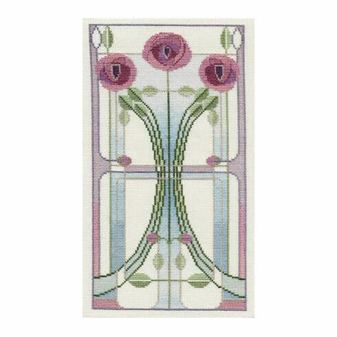 Rose Bouquet Cross Stitch Kit