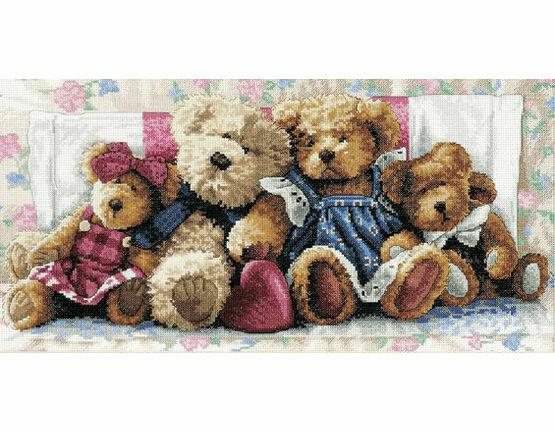 Row of Love Cross Stitch Kit