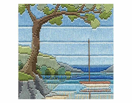 Beach Cove Long Stitch Kit