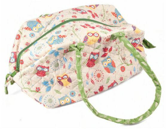 Rustic Ranch Knitting Carryall Craft Bag
