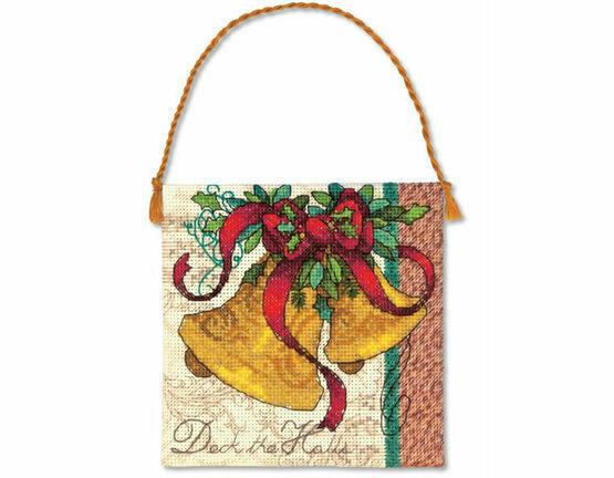 Bells Ornament Cross Stitch Kit