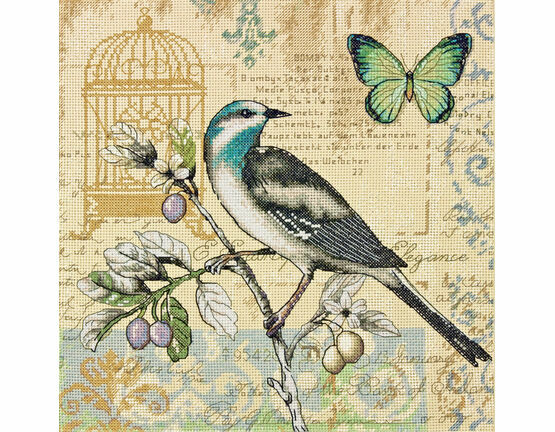 Nature Study Cross Stitch Kit