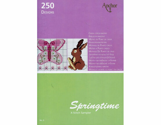 Springtime Cross Stitch Chart Book