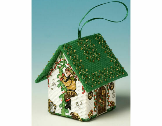 Jack & The Beanstalk 3D Pantomime House Cross Stitch Kit