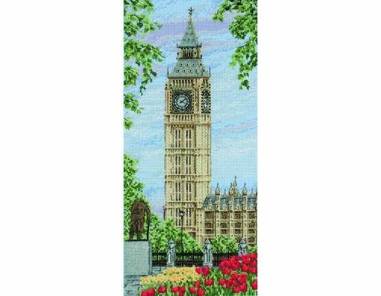 Westminster Clock Cross Stitch Kit
