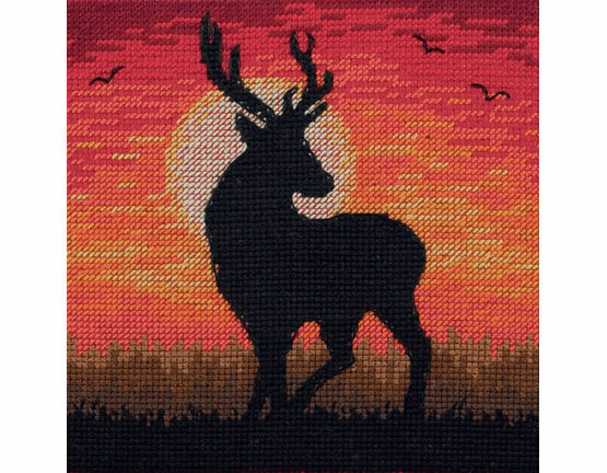 Majestic Sunset Cross Stitch Kit