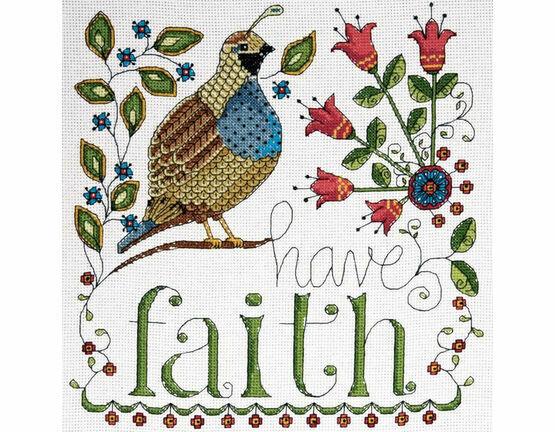 Have Faith Cross Stitch Kit