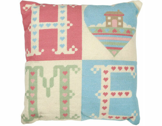 Home Sweet Home Cushion Panel Tapestry Kit