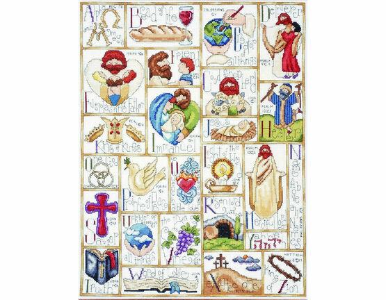 Inspirational ABC Cross Stitch Kit