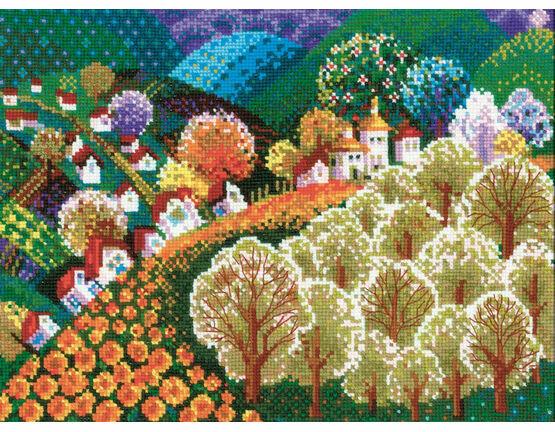 Fairytale Valley Cross Stitch Kit