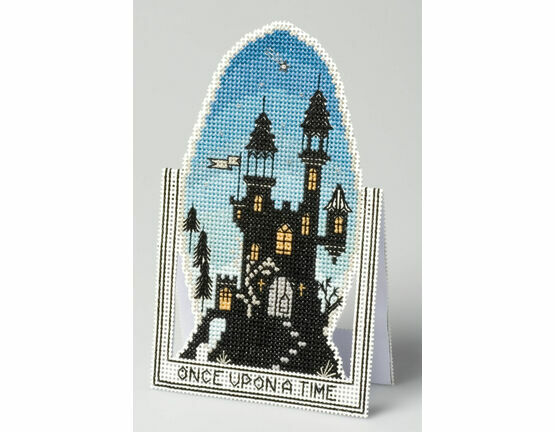 Once Upon A Time 3D Cross Stitch Card Kit