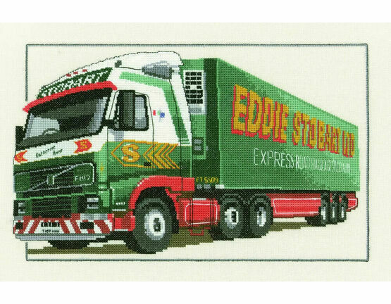 Eddie Stobart Volvo FH12 Cross Stitch Kit
