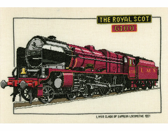 The Royal Scot Cross Stitch Kit