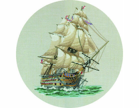 HMS Victory Cross Stitch Kit