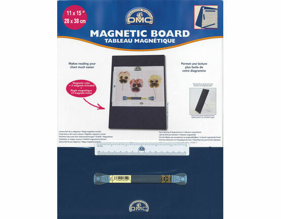 Large Magnetic Chart Holder With Stand