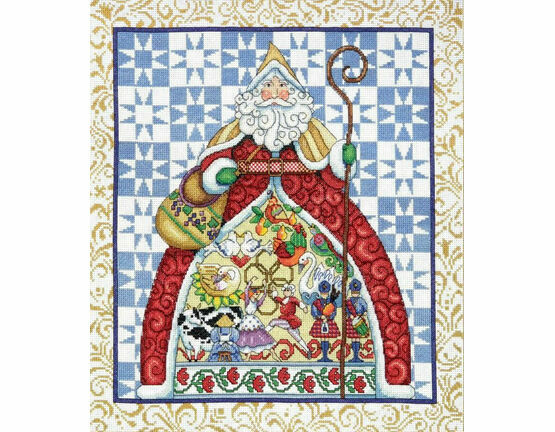 Jim Shore 12 Days Of Christmas Cross Stitch Kit