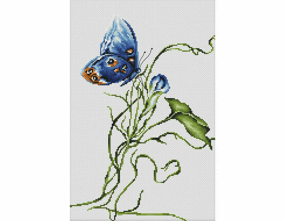 Emotion Butterfly Cross Stitch Kit