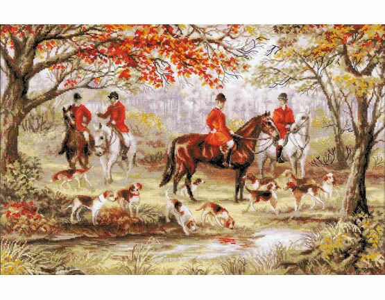 Riding Out Cross Stitch Kit