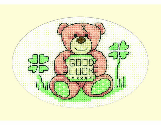 Good Luck Cross Stitch Card Kit
