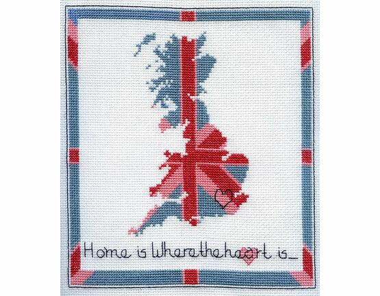 Stitch Kits Home Is Where The Heart Is Cross Stitch Kit